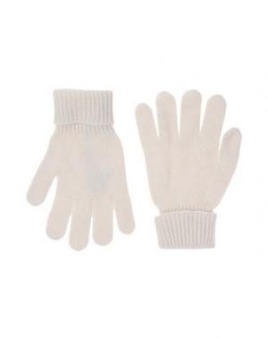Перчатки DOLCE & GABBANA. Цвет: белый