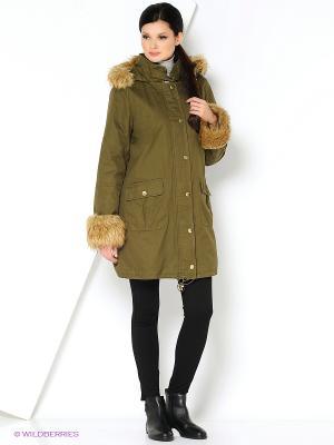 Куртка APART. Цвет: оливковый