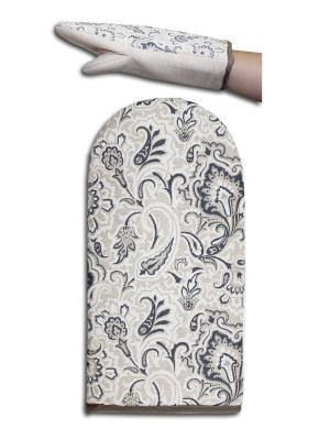 Рукавица для духовки огурец серый GrandStyle. Цвет: серый
