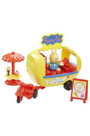 Кафе-мороженое Ребекки Peppa Pig. Цвет: желтый