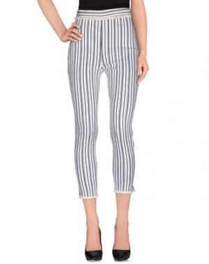 Повседневные брюки MEM.JS. Цвет: стальной серый