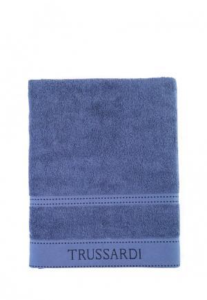 Полотенце Tru Trussardi. Цвет: синий