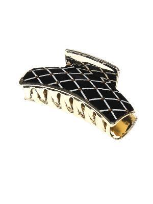 Заколка-краб Gusachi. Цвет: черный, золотистый, желтый, белый