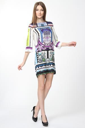 Платье Mary Katrantzou. Цвет: мультицвет