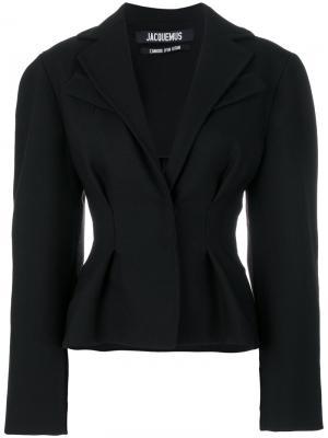 Приталенный пиджак Jacquemus. Цвет: чёрный
