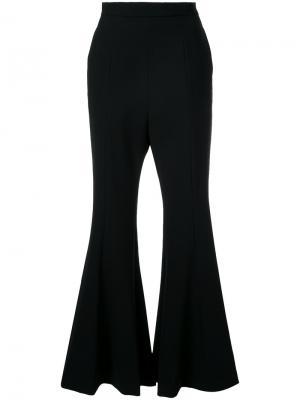 Расклешенные брюки Cady G.V.G.V.. Цвет: чёрный