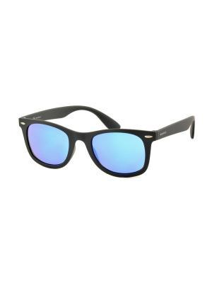 Солнцезащитные очки MEGAPOLIS. Цвет: синий