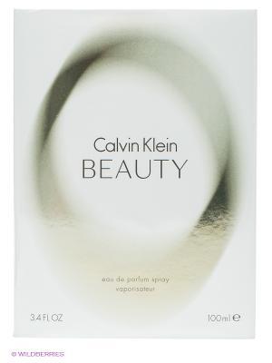 Парфюмерная вода-спрей Beauty, 100мл. Calvin Klein. Цвет: белый, серо-зеленый