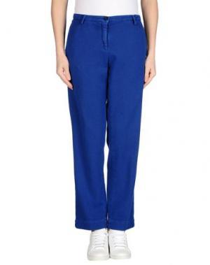 Повседневные брюки MASSIMO ALBA. Цвет: синий