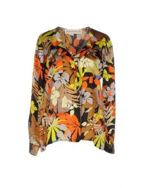Блузка SHIRTAPORTER. Цвет: кислотно-зеленый