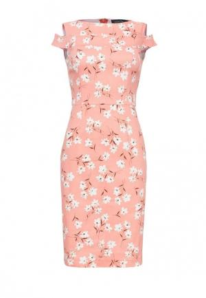 Платье Lucky Move. Цвет: коралловый