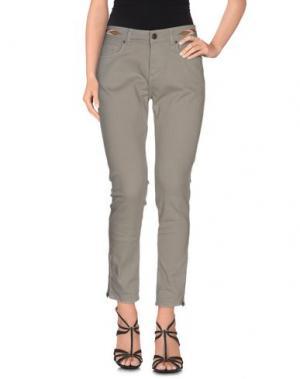 Джинсовые брюки SWILDENS. Цвет: серый