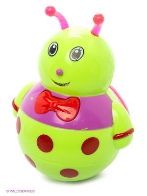Неваляшка Малышка VELD-CO. Цвет: салатовый