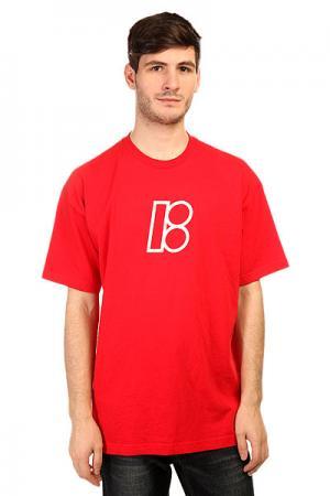 Футболка  Pro B Red Plan. Цвет: красный