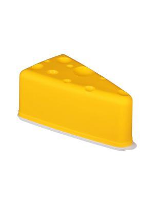 Контейнер для сыра Альтернатива. Цвет: белый, желтый