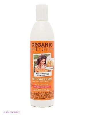 Бальзам-био для волос Природная сила ORGANIC PEOPLE. Цвет: белый
