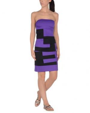 Пляжное платье FISICO. Цвет: фиолетовый