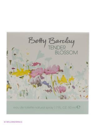 Туалетная вода Tender Blossom, 50мл. Betty Barclay. Цвет: белый