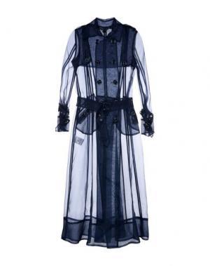 Легкое пальто TENAX. Цвет: темно-синий