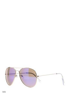 Солнцезащитные очки Modis. Цвет: зеленый