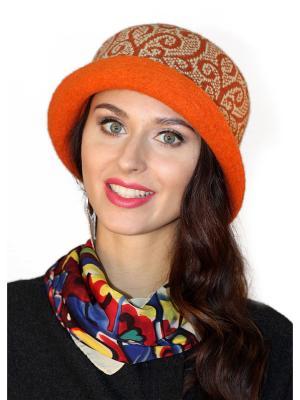 Шляпа Сиринга. Цвет: оранжевый
