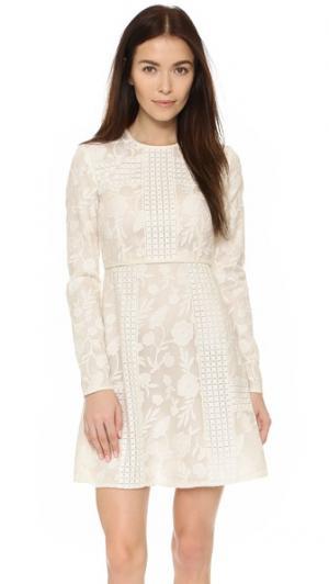 Платье с длинными рукавами Tamara Jill Stuart. Цвет: мел