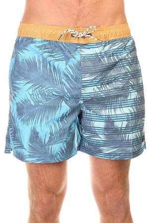 Шорты пляжные  Gemini Layback 16 Blue Billabong. Цвет: голубой