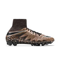 Мужские футбольные бутсы для игры на искусственном газоне  Hypervenom Phantom II AG Nike. Цвет: коричневый
