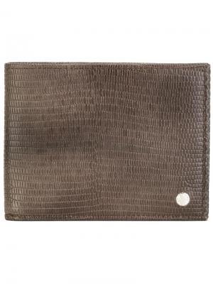 Классический бумажник Orciani. Цвет: коричневый