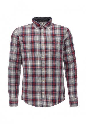Рубашка Alcott. Цвет: бордовый