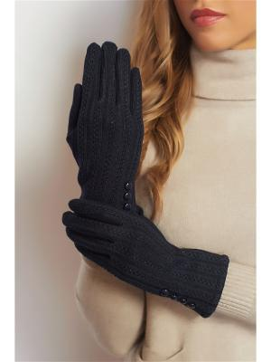 Перчатки Abby. Цвет: темно-синий