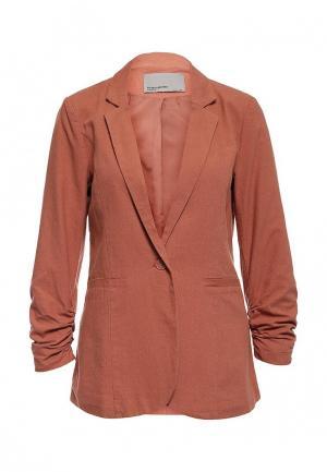 Пиджак Vero Moda. Цвет: коралловый