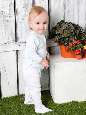 Кофточка, 2 шт Lucky Child. Цвет: зеленый, голубой