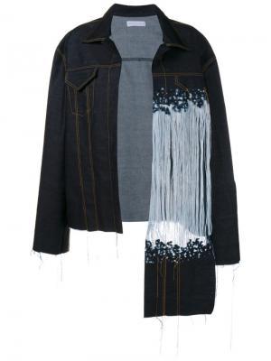 Джинсовая куртка Faustine Steinmetz. Цвет: синий