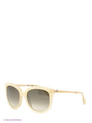 Солнцезащитные очки VW 801S 07 Vivienne Westwood. Цвет: бежевый