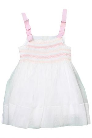 Платье I Pinco Pallino. Цвет: белый