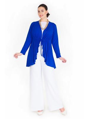 Жакет Darissa Fashion. Цвет: синий
