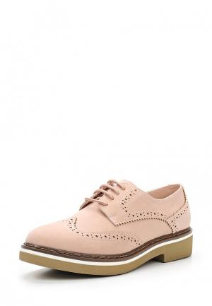 Ботинки Bata. Цвет: розовый