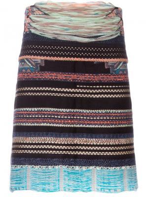 Totem apron shorts Yoshio Kubo. Цвет: многоцветный