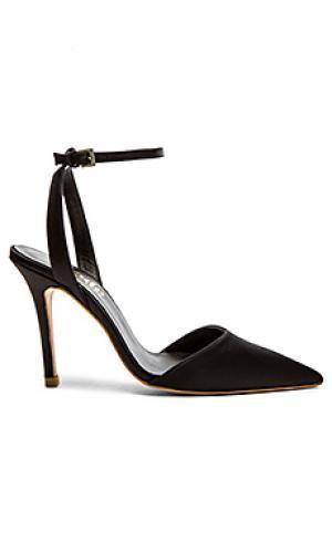 Туфли на каблуке ankle strap The Mode Collective. Цвет: черный