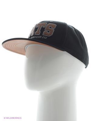 Бейсболка Maxval. Цвет: черный, бежевый