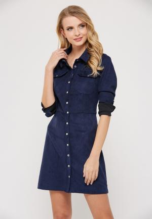 Платье Verna Sebe. Цвет: синий