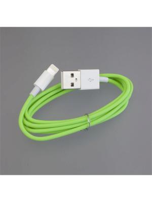 Usb кабель Pro Legend плоский Iphone 5, 6s, 8 pin, 1м,  зеленый. Цвет: зеленый
