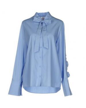 Pубашка STEVE J & YONI P. Цвет: лазурный