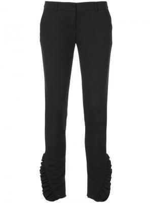 Классические брюки Thomas Wylde. Цвет: чёрный