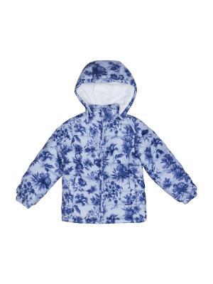 Куртка FOX. Цвет: темно-синий