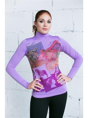 Водолазка VIVO. Цвет: темно-фиолетовый, сиреневый, фуксия