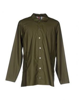 Легкое пальто KILT HERITAGE. Цвет: зеленый-милитари