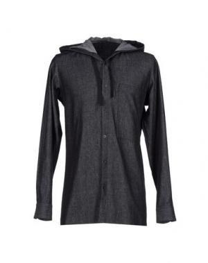 Джинсовая рубашка TILLMANN LAUTERBACH. Цвет: черный