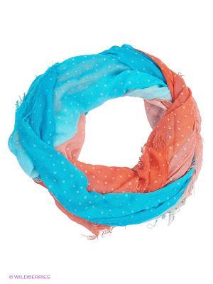 Палантин Moltini. Цвет: голубой